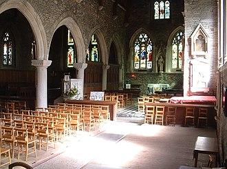St German's Priory - Interior view