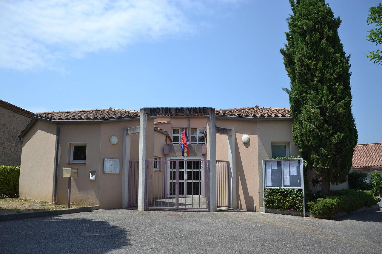 St Hilaire (Aude) town hall.JPG