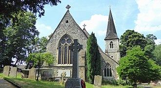 North Cray - Image: St James' Church in North Cray
