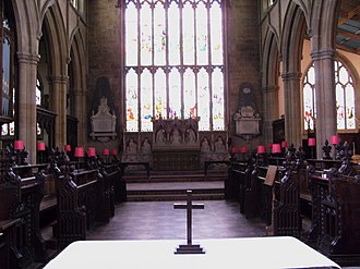 St James' Church, Louth - Image: St James Louth Chancel