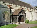 St Mary Magdalene Church, Hadnall, Porch - geograph.org.uk - 590764.jpg