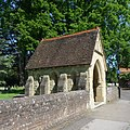 St Nicolas' Church, Church Lane, Cranleigh (May 2014) (Lychgate).JPG