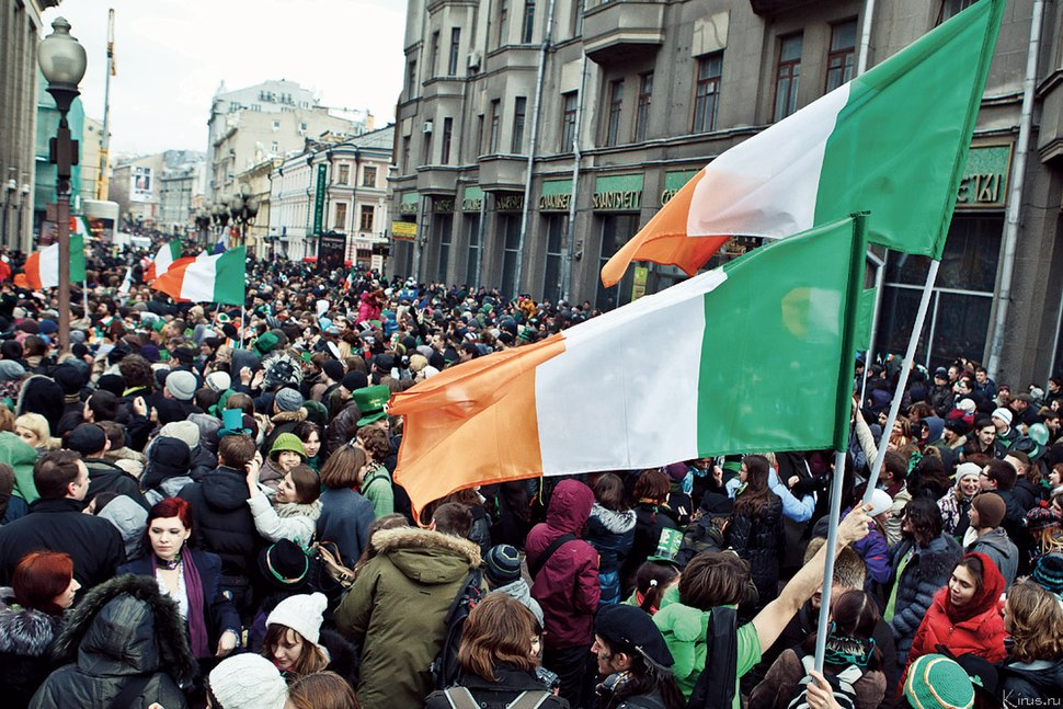 St Patrick's Day 2012 in Moscow
