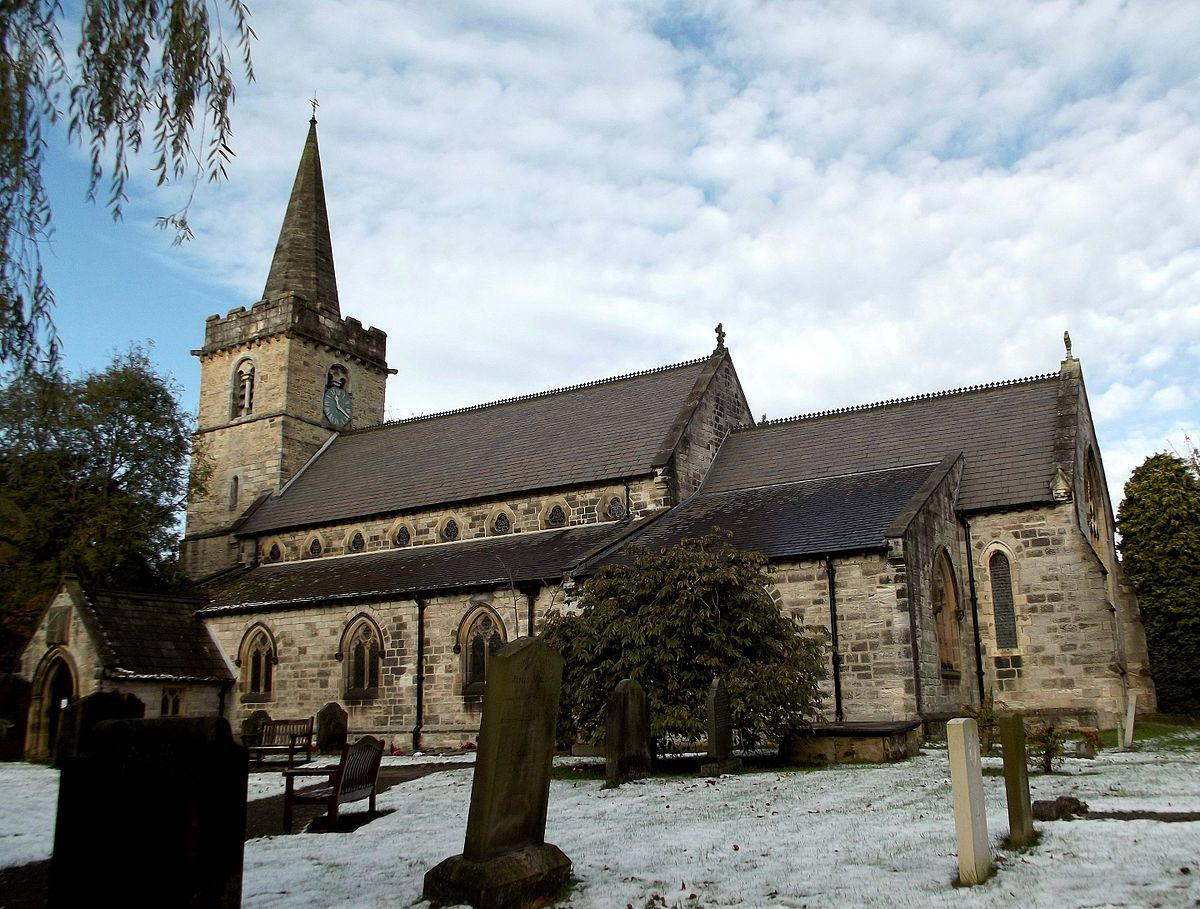 St Ricarius Church Aberford Wikipedia
