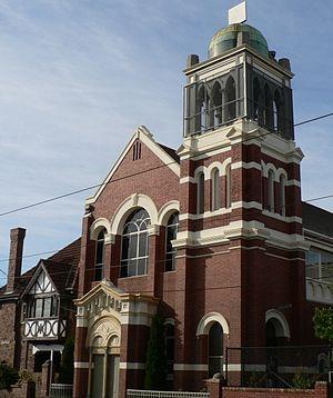 Balaclava, Victoria - Image: St colmans school hall