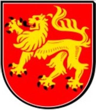 Dransfeld - Image: Stadtwappen Dransfeld