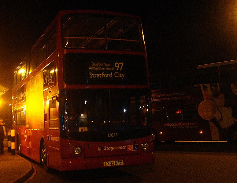File:Stagecoach 17875 on Route 97, Chingford Station (11212405023).jpg
