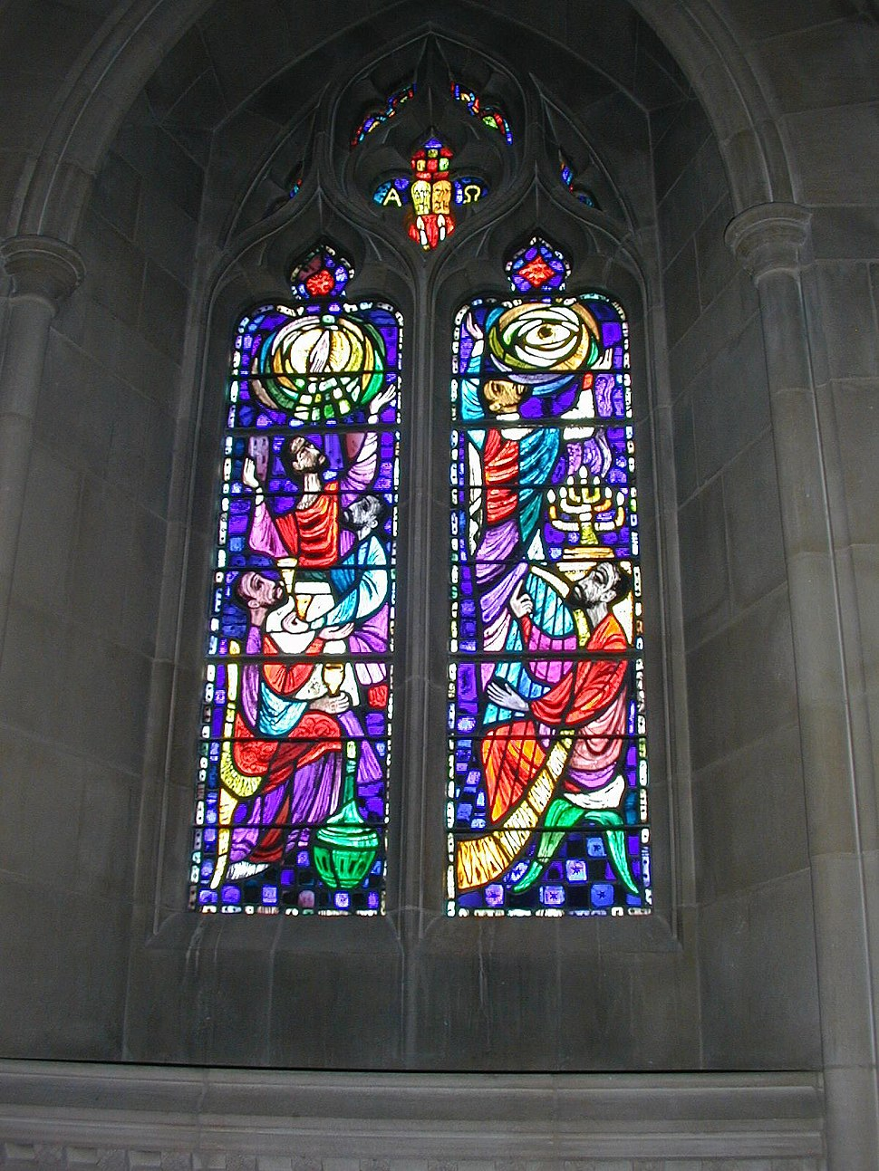 Stained Glass Window Washington National Cathedral