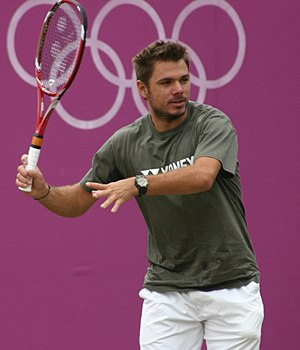 2014 ATP World Tour - Stanislas Wawrinka won his first Grand Slam title at the Australian Open (def. Nadal).