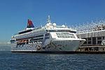 Star Pisces at Ocean Terminal, Hong Kong, from ferry pier 2.jpg