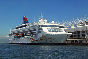 Star Cruises - Image: Star Pisces at Ocean Terminal, Hong Kong, from ferry pier 2