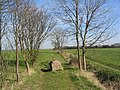 Start of bridleway east toward Great and Little Raveley - geograph.org.uk - 391054.jpg