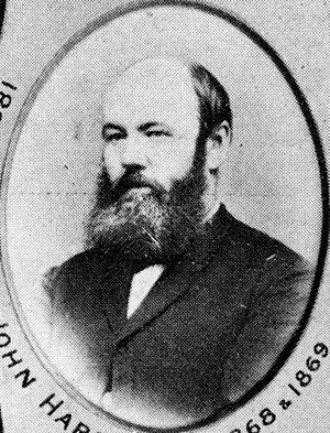 John Hardgrave - John Hardgrave, ca. 1868-1869.
