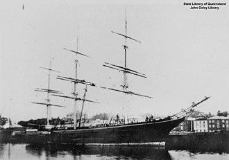 Blackadder (clipper) - Image: State Lib Qld 1 133789 Blackadder (ship)