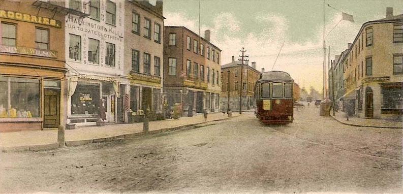 State Street from Market Square, Newburyport, MA