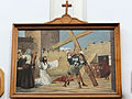 Station of the Cross in Saint Francis church in Warsaw - 02.jpg