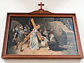 Station of the Cross in Saint Francis church in Warsaw - 06.jpg