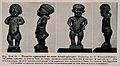 Statuettes of two dwarfs. Reproduction, 1934, of a photograp Wellcome V0007438.jpg