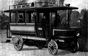 Steam bus - French steam bus