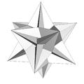 Stellation icosahedron De1f1dg2.png