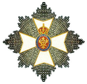 1999 New Year Honours - Breast Star of the Grand Cross of the Royal Victorian Order