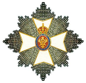 1998 New Year Honours - Breast Star of the Grand Cross of the Royal Victorian Order