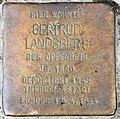 Stolperstein Bayerische Str 9 (Wilmd) Gertrud Landsberg.jpg