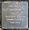 Stolperstein Berliner Str 20 (Hermd) Elly Wangenheim.jpg