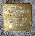 Stolperstein Friedberger Anlage 32 Osias Springut.jpg