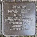 Stolperstein Herford Brüderstraße 1 Erwin Hecht.JPG