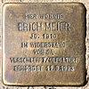 Stolperstein Kurze Str 1 (Spand) Erich Meier.jpg