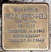 Stolperstein Markt 11 (Spand) Paula Hirschfeld.jpg