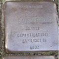 Stolperstein Mittelweg 8-10 Fred Bauernfreund.jpg