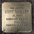 Stolperstein Pariser Str 47 (Wilmd) Lotte Schiller.jpg