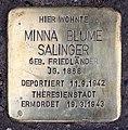Stolperstein Seesener Str 14 (Halsee) Minna Blume Salinger.jpg