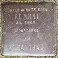 Stolpersteine Köln, Rommni, Stein-Nr. 113 (Holzmarkt 1).jpg