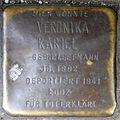 Stumbling stone for Veronika Kariel (Pantaleonswall 81)