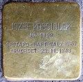 Stolpersteine Salzburg, Jozef Kosciolek (Franziskanergasse 5).jpg