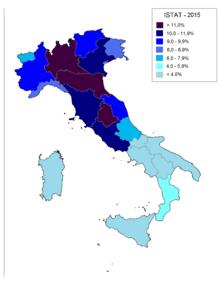 Immigrazione in italia wikipedia - Regioni italiane non bagnate dal mare ...