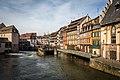 Strasbourg Petite France vue du pont Saint-Martin mars 2015.jpg