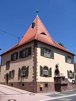 Straubenhardt Langenalb Rathaus 2006 07 02