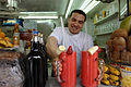 Strawberry-bananna smoothie, Damascus, Syria.jpg