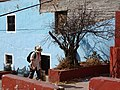 Street Scene with Passerby - Guanajuato - Mexico (39144327401).jpg