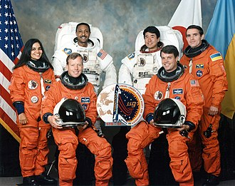 STS-87 - Image: Sts 87 crew
