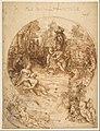 Studies for a Circular Composition of Diana and Her Nymphs Bathing (recto); Studies for the Same Composition (verso) MET DP812242.jpg