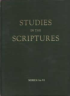 <i>Studies in the Scriptures</i> literary work