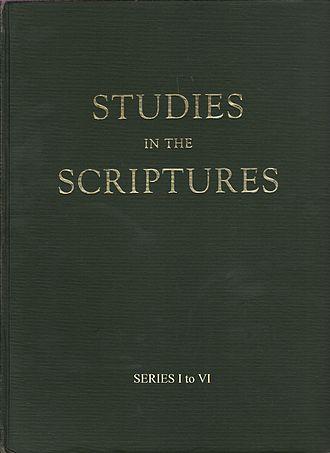 Studies in the Scriptures - Image: Studies in the Scriptures
