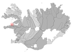 Location of the Municipality of Stykkishólmur