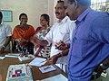 Success of Mangalyaan - celebration held at Koorachundu grama panchayat.jpg