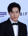 Suho at 24th Busan Internation Film Festival red carpet on October 3, 2019 (2).png
